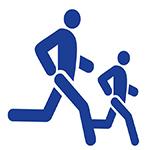 Two Man Running